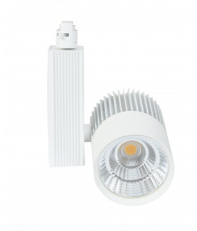 LED COB Railverlichting 24W 4000k Wit 3-wire