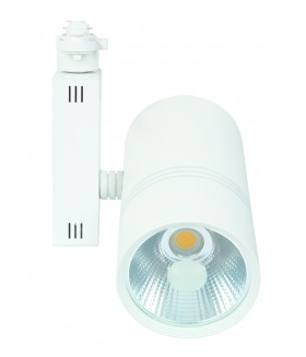 LED COB Railverlichting 24W 4000k Wit 3-wire 302