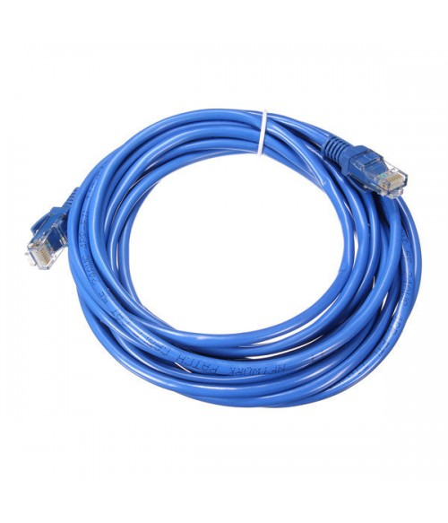 UTP CAT 6 internet Kabel 5M Blauw