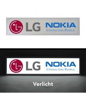 LED Reclamebord (LG, Nokia)