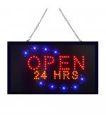 LED Open 24 Hrs Bord sign