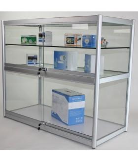 Glas Balie Vitrine - Toonbank 120x100x55cm