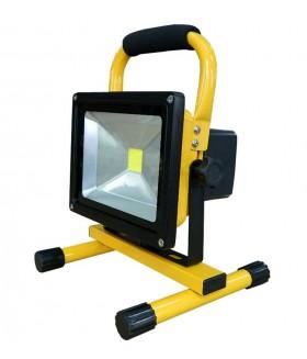 Oplaadbare LED Floodlight Bouwlamp 20W