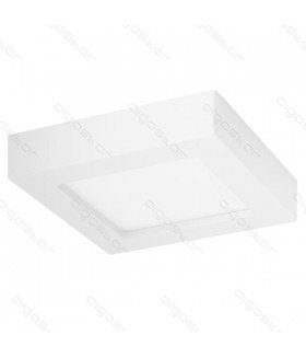 LED SLIM OPBOUW DOWNLIGHT VIERKANT 6W 6000K