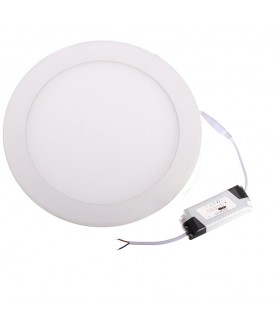 Led Paneel Rond, Led Slim Down Light 24W 6000K, 3 jaar garantie