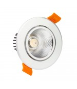 LED COB Downlight adjustable 3W 6000K SIL