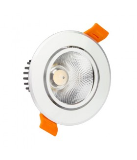 LED COB INBOUWSPOT adjustable 3W 3000K SIL