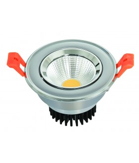 LED COB INBOUWSPOT Adjustable 5w 6000k
