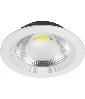 Led  inbouwspot  COB Warm Wit 20 Watt - OP=OP
