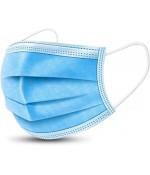 Disposable Mondkapjes Mondmaskers 3-laags blauw 50 stuks